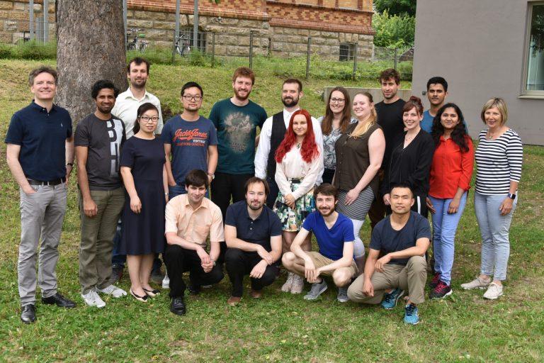 Mitarbeier und Gruppenfotos CEEC Jena, Friedrich-Schiller-Universität Jena, aufgenommen am 06.05.2019. Foto: Anne Günther/FSU